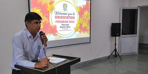 Orientation Programme for Fresher's