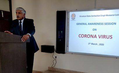 General Awareness Session on Coronavirus