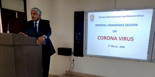 General Awareness Session on Coronavirus
