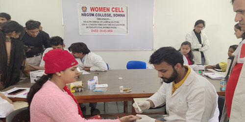 Health Check-up Camp and Awareness Lecture on Coronavirus (City Campus)