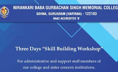 "Three Days Online ""Skill Building Workshop"""